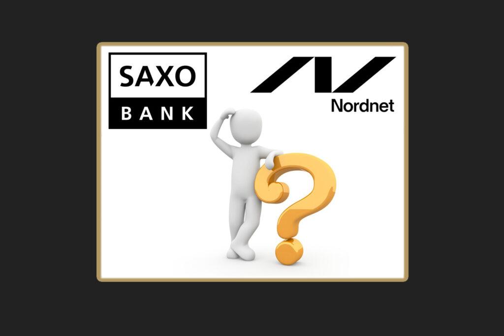 Skal jeg vælge Saxo Bank eller Nordnet til at handle aktier på?